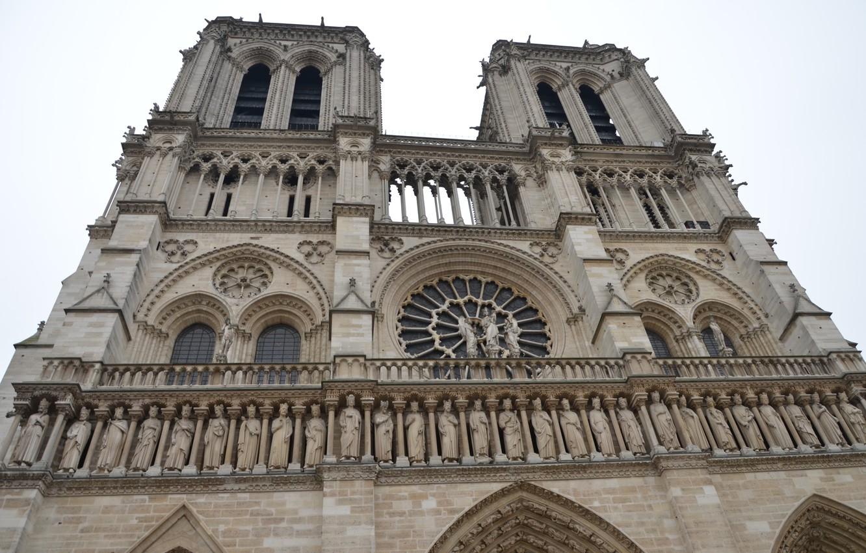 Photo wallpaper France, Paris, Europe, Cathedral, temple, Paris, architecture, Notre Dame Cathedral, France, Europe, Notre Dame de …