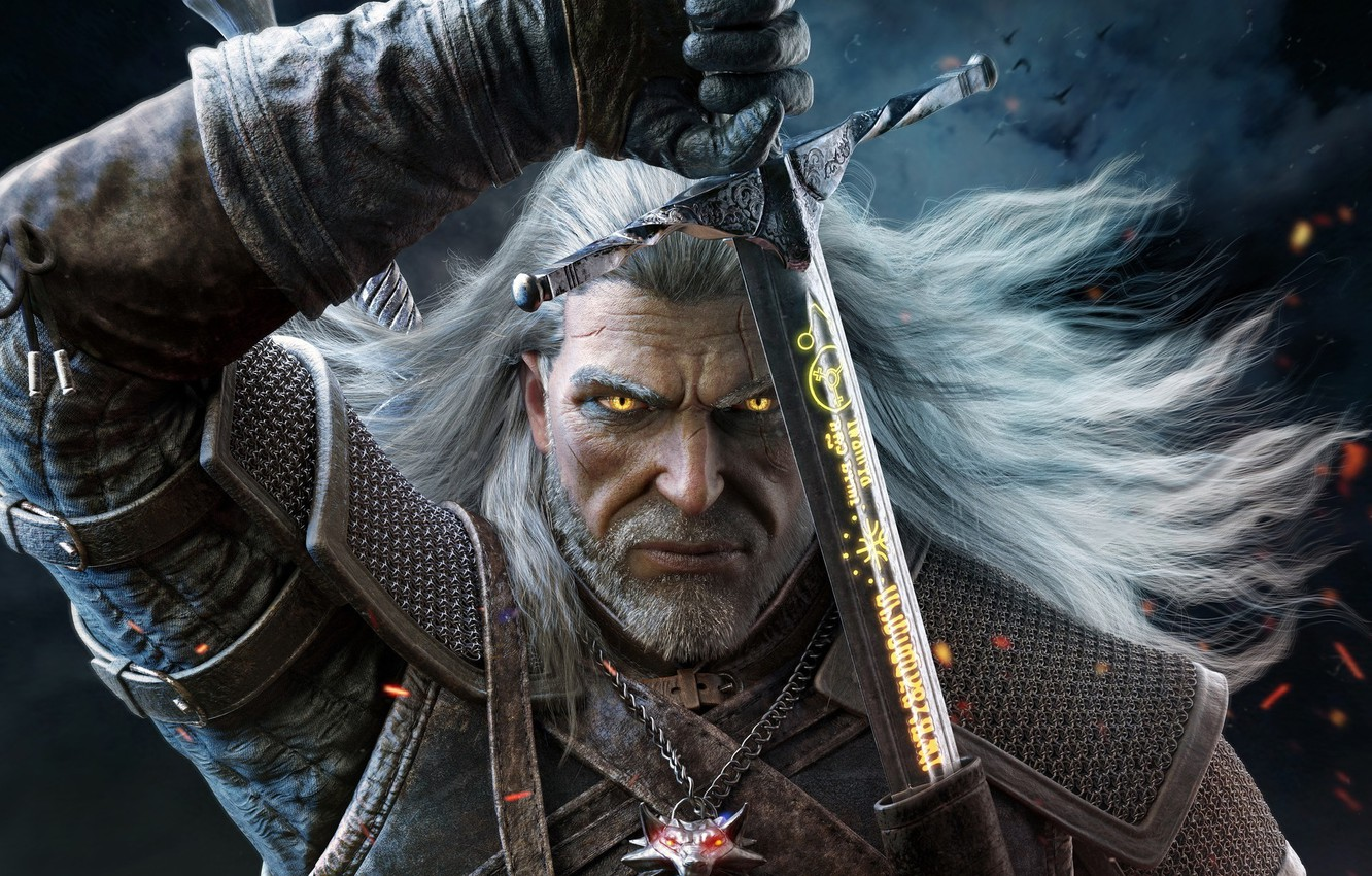 Wallpaper The Witcher Geralt Cd Projekt Red The Witcher 3 Wild