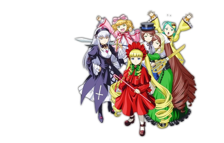 Photo wallpaper doll, doll, rozen maiden, tavern, Virgin rose, suiseiseki, suiginto