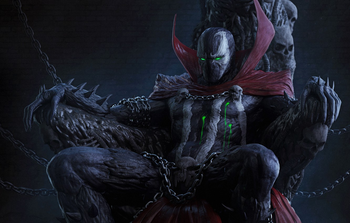 Photo wallpaper costume, comics, anti-hero, Spawn, spawn