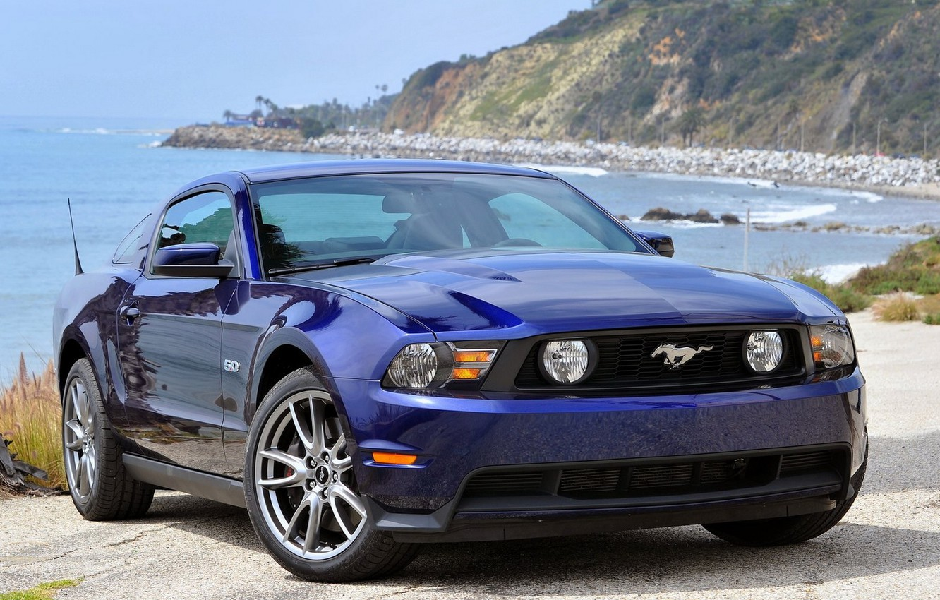 Photo wallpaper Mustang, Ford, Auto, Machine, Ford, Wallpaper, Mustang, Ford Mustang, Auto, Wallpapers, about the sea