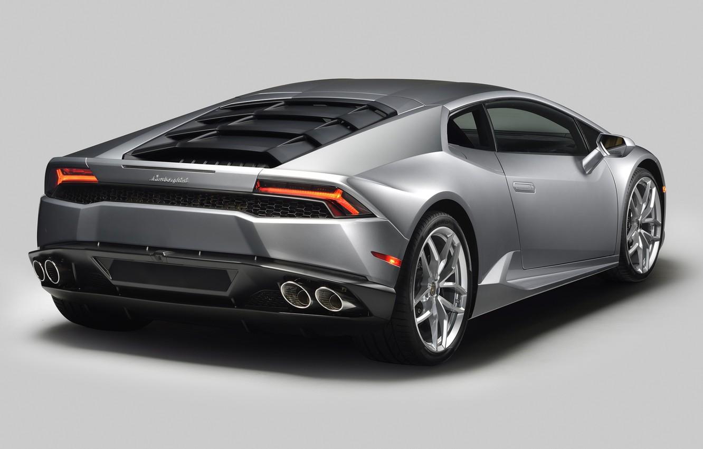 Photo wallpaper Lamborghini, supercar, rear view, Lamborghini, Huracan, Huracan, 610-4
