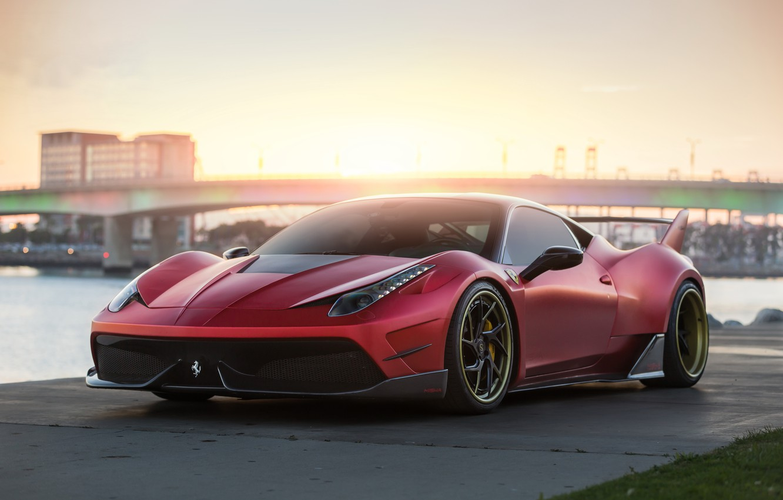 Photo wallpaper Ferrari, Misha, 458, Tuning, Speciale, Designs