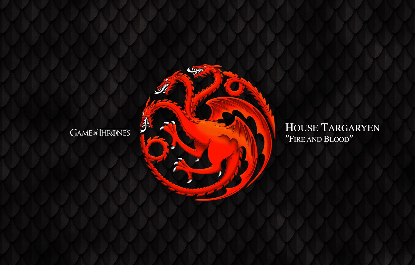 Wallpaper Dragon Game Of Thrones Fire And Blood House