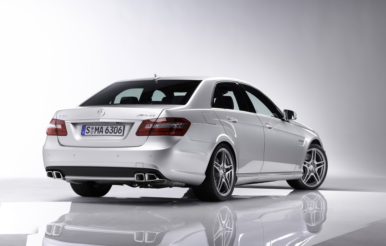 Photo wallpaper Auto, Mercedes Benz, E Class