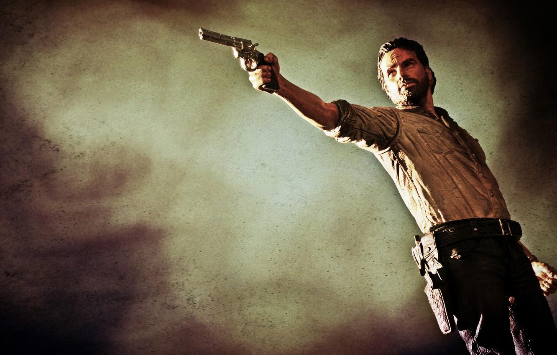 Wallpaper Toy Colt Python 357 Magnum The Walking Dead Rick