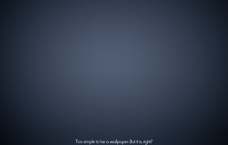 Photo wallpaper blue, Wallpaper, minimalism