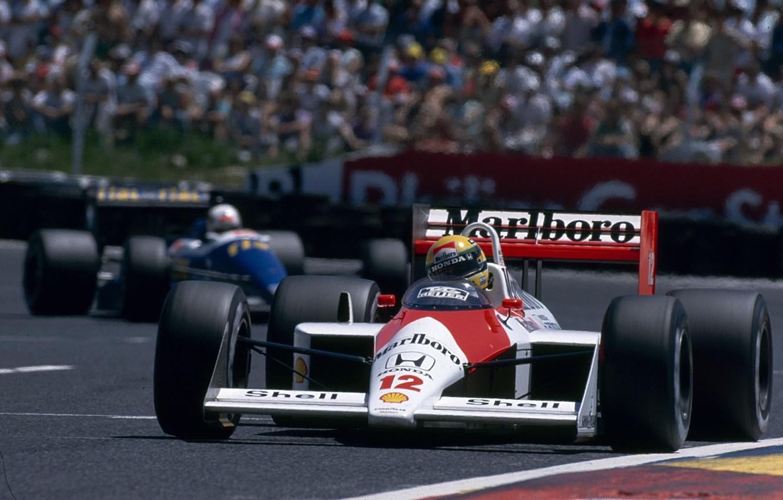 Wallpaper Ayrton Senna Gp France Season 1988 Mclaren Mp4