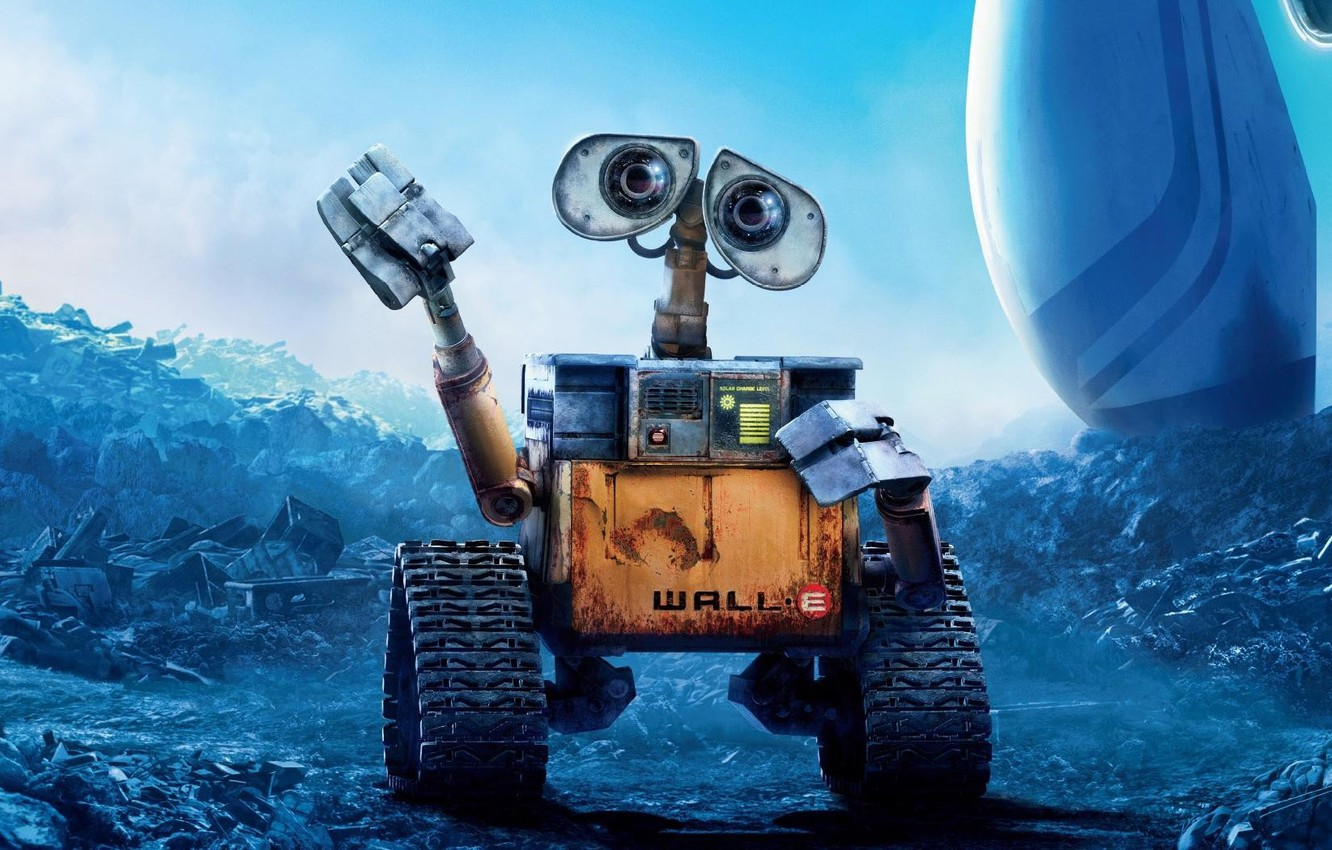 Photo wallpaper wall-e, pixar, animation