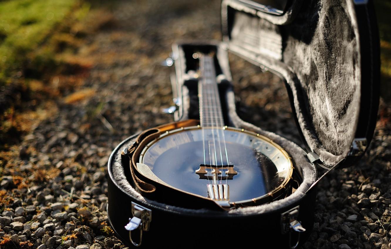 Photo wallpaper music, tool, banjo