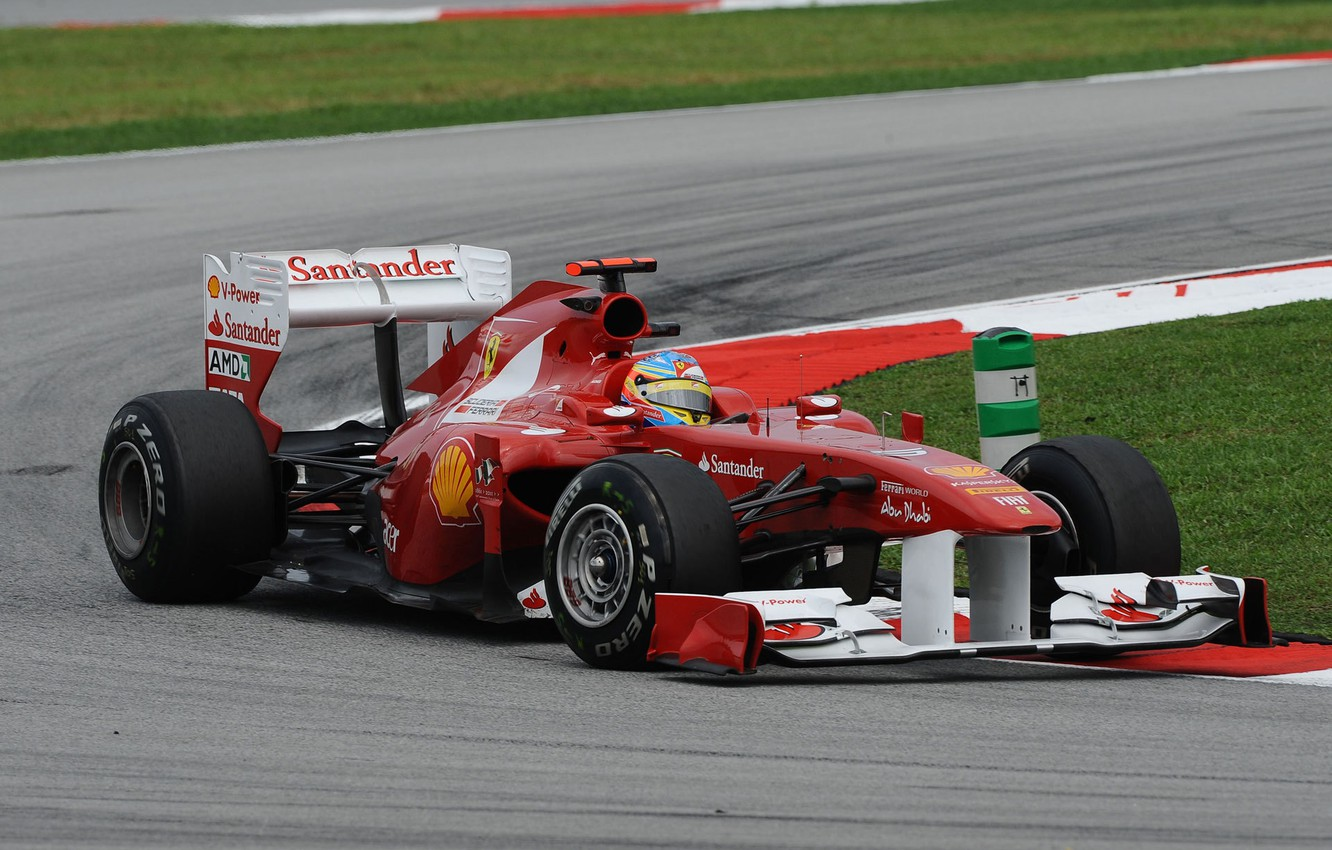 Photo wallpaper formula 1, ferrari, Ferrari, formula 1, 2011, Fernando Alonso, Malaysian GP, Fernando Alonso, Sepang, The …