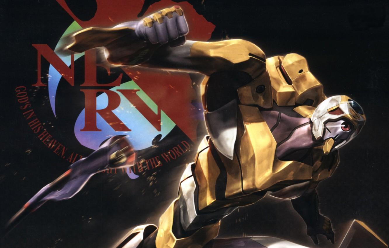 Photo wallpaper Anime, Neon Genesis Evangelion, Eva-00, NERV
