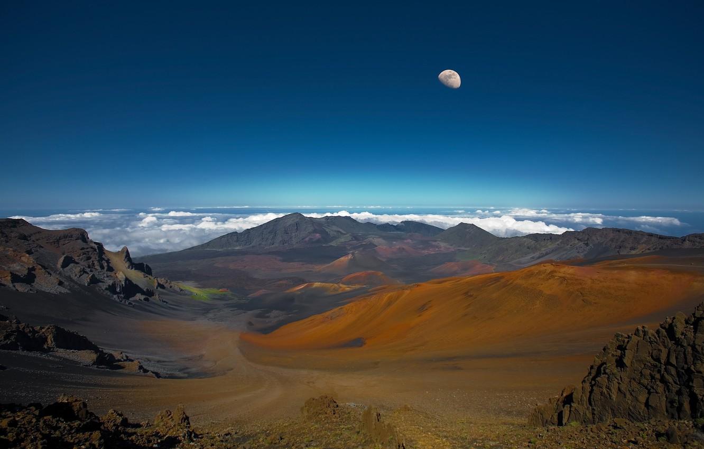 Photo wallpaper mountains, rocks, landscapes, volcanoes
