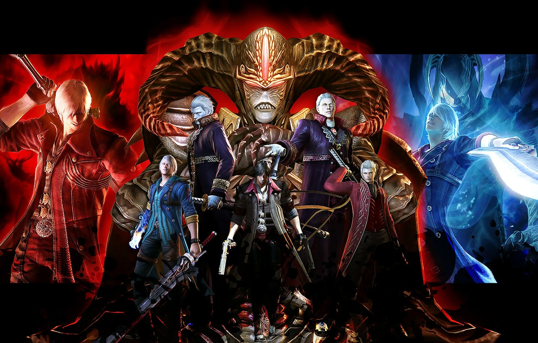 Wallpaper Sword Demons Nero Dante Devil May Cry Sparda