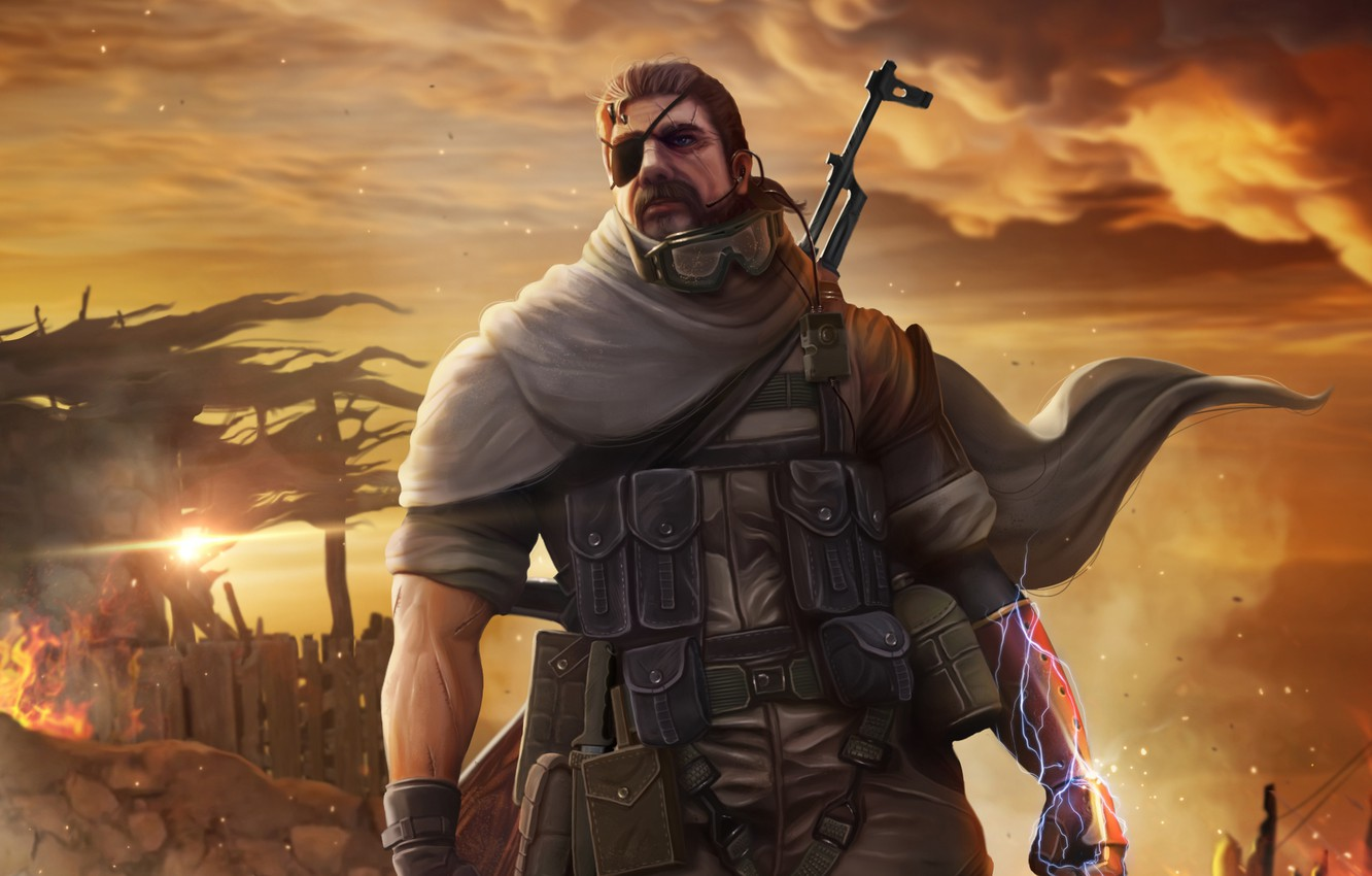 Wallpaper Metal Gear Solid Snake Konami Jack Naked Snake