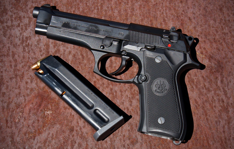 Photo wallpaper gun, weapons, Beretta, Beretta, self-loading