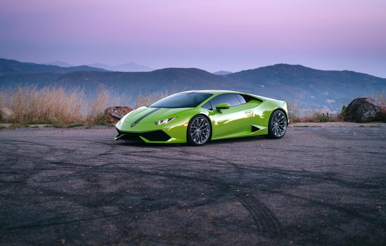 Photo wallpaper Lamborghini, Huracan, HRE, P200