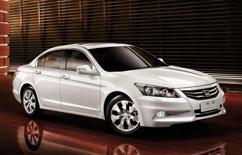 Photo wallpaper white, honda, Honda, accord, chord, honda accord, Honda accord
