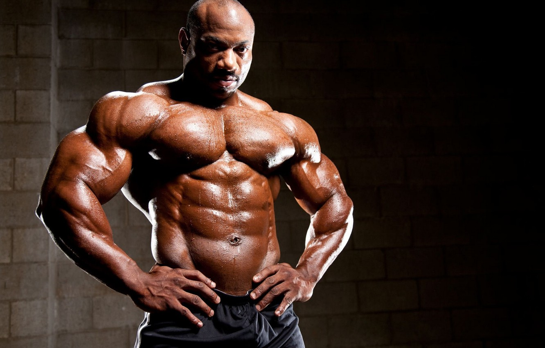 Wallpaper muscles, press, pose, abs, bodybuilder, Dexter Jackson, Dexter  Jackson images for desktop, section мужчины - download
