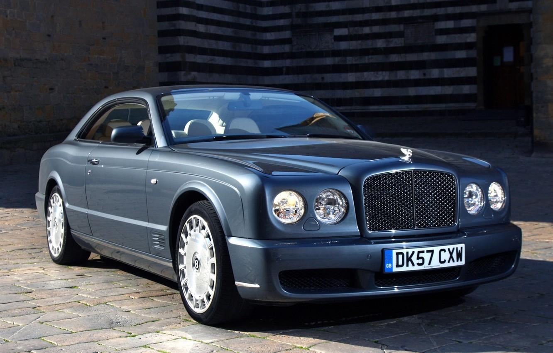 Photo wallpaper coupe, bentley, coupe, the front, Bentley, Brooklands, brooklands
