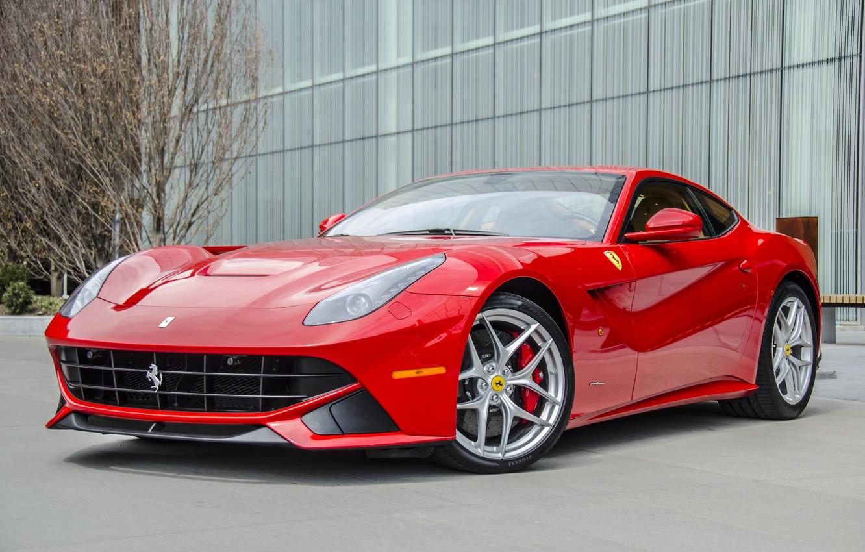 Photo wallpaper car, Ferrari, super, f12, Berlinetta