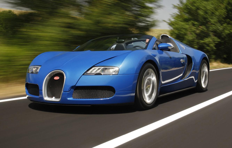 Photo wallpaper bugatti, roadster, veyron/grand.sport