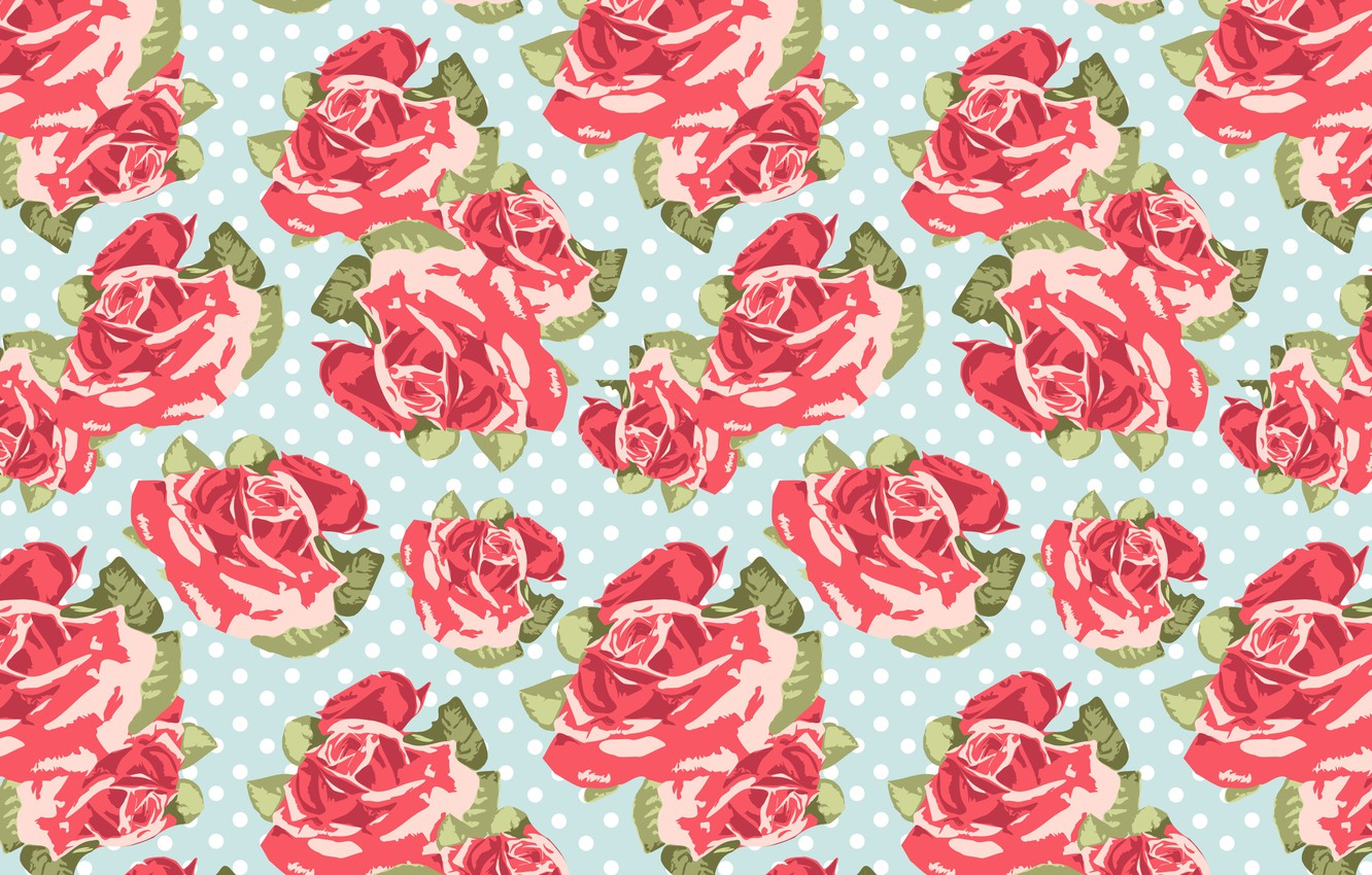 Photo wallpaper flowers, background, roses