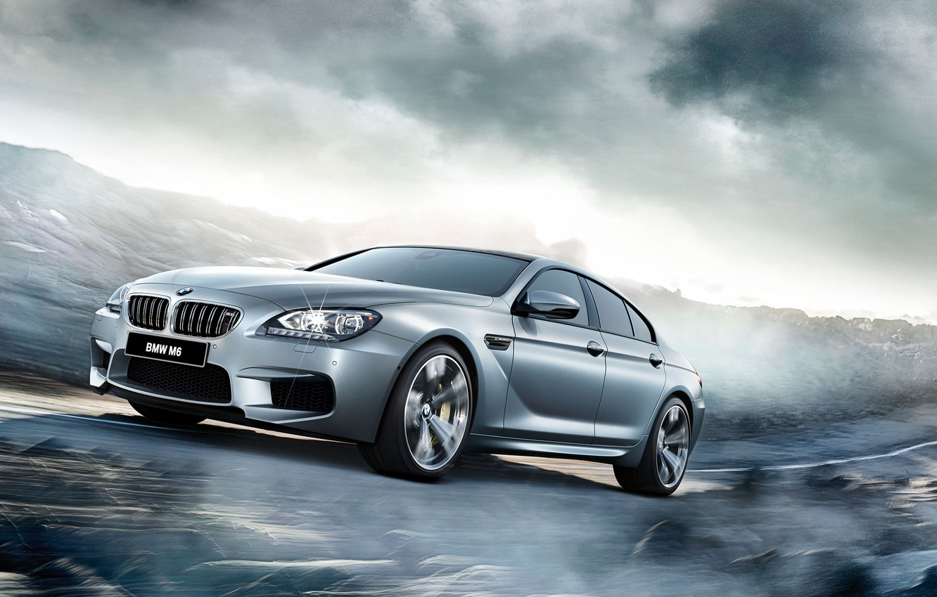 Photo wallpaper BMW, coupe, BMW, Gran Coupe, F06, 2015