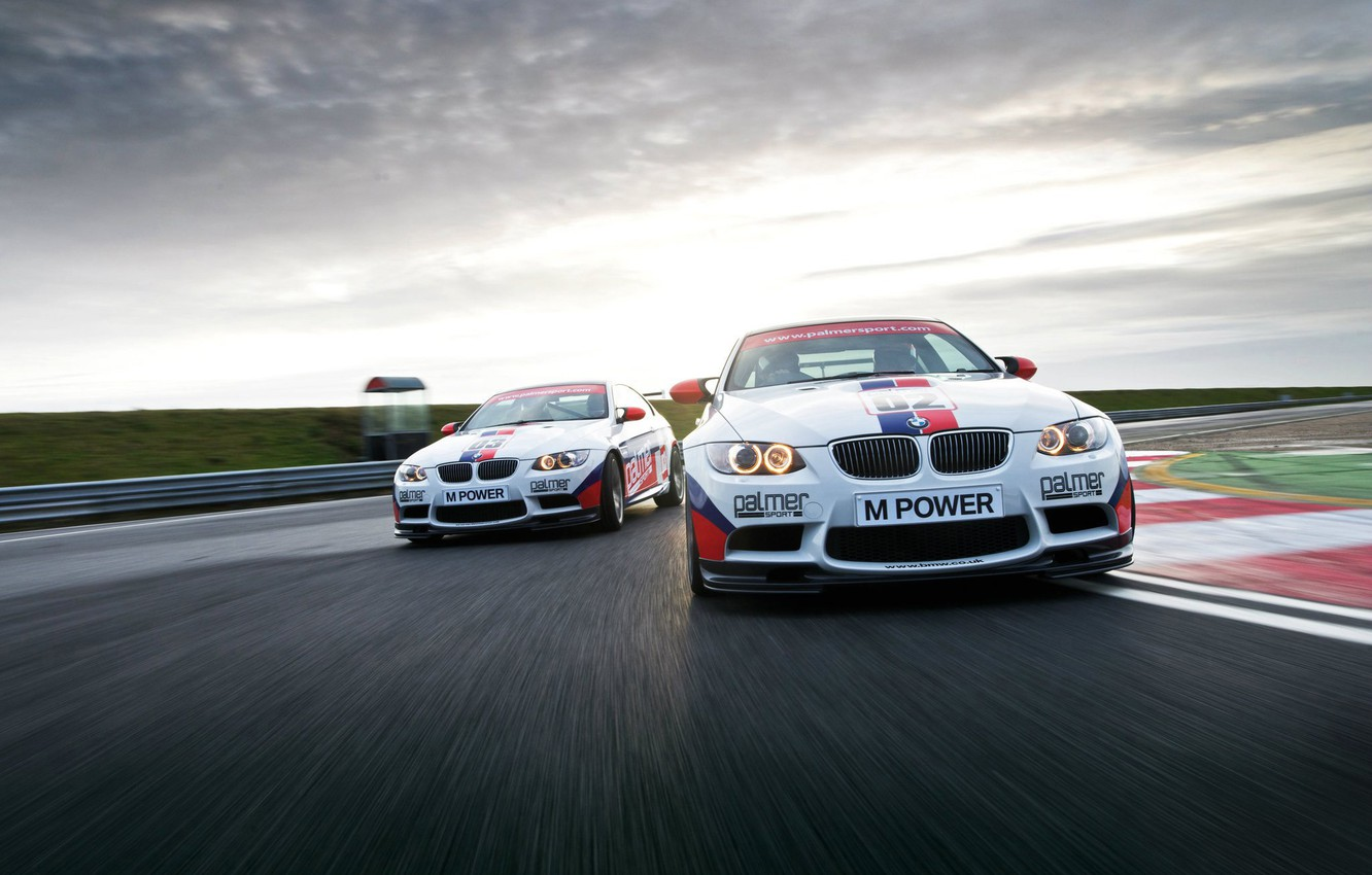 Photo wallpaper sport, tuning, BMW, speed, BMW, track, E92