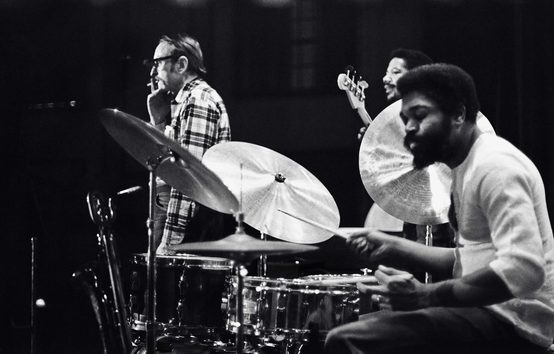 Photo wallpaper music, jazz, drums, musicians, bass, Steve Davis, jazz musicians, Billy Hart, Pepper Adams