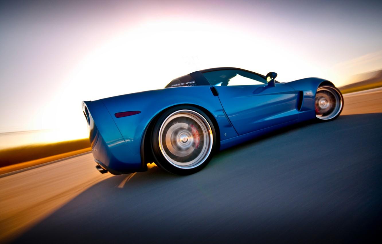 Photo wallpaper corvette, chevrolet, Corvette, z06