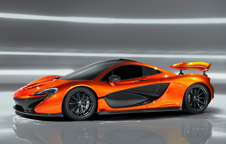 Photo wallpaper McLaren, supercar