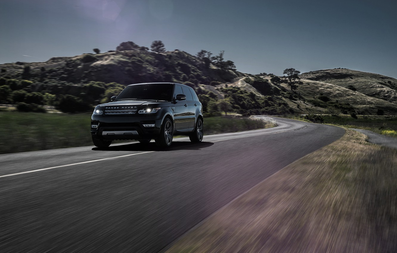 Photo wallpaper Black, California, Forged, Sport, Land, Rover, Wheels, Range, Collection, Aristo