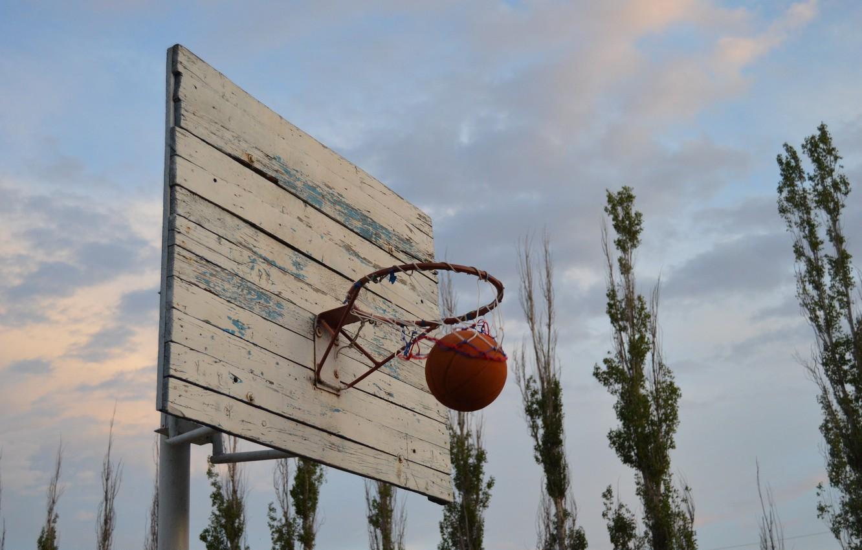 Photo wallpaper ring, basketball, NBA