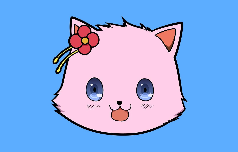 Wallpaper Kawaii Game Flower Nothing Pink Anime Cat Asian Cute Manga Japanese Oriental Asiatic Sugoi Visual Novel Hana Images For Desktop Section Syodzyo Download