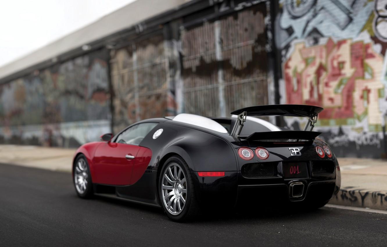 Photo wallpaper 2006, Bugatti, Veyron, Bugatti, Veyron, US-spec
