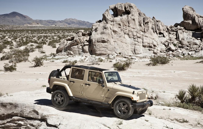 Photo wallpaper car, Wrangler, Jeep, SUV., high, patency