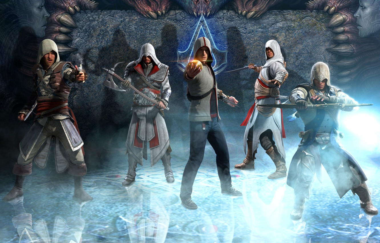 Wallpaper Ezio Brotherhood Assassin S Creed Altair