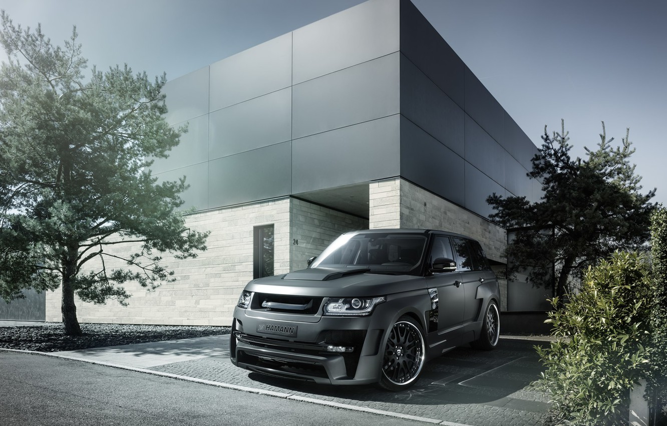 Photo wallpaper tuning, Land Rover, Range Rover, Hamann, tuning, the front, Mystere