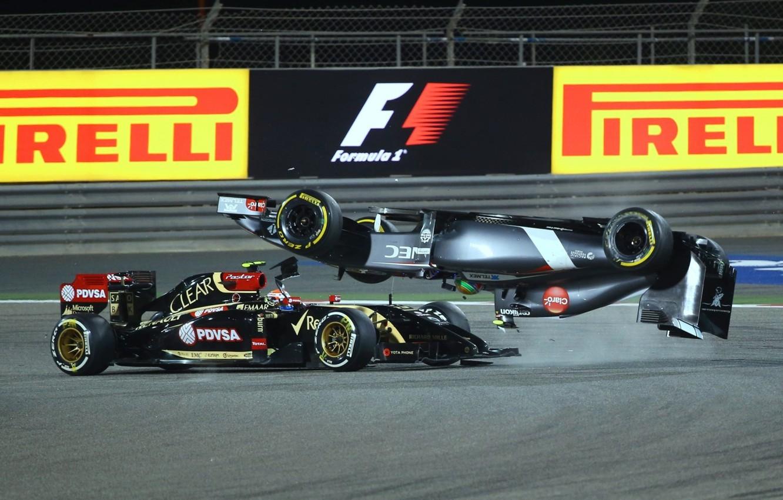 Wallpaper Crash Grand Prix Formula 1 Images For Desktop