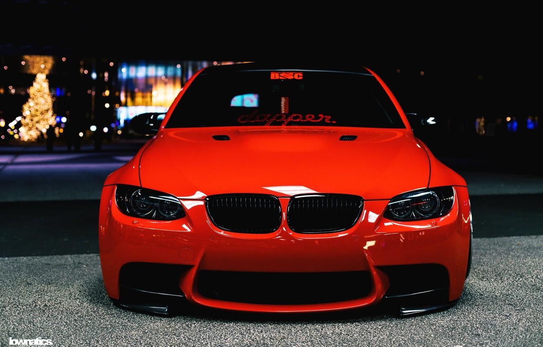 Photo wallpaper BMW, BMW, E92