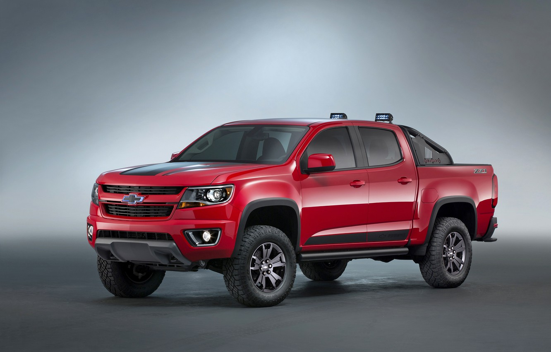 Photo wallpaper Concept, Chevrolet, the concept, Chevrolet, Colorado, pickup, Colorado