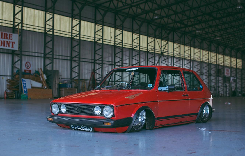 Photo wallpaper volkswagen, Golf, golf, Volkswagen