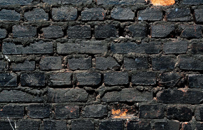 Wallpaper Wall White Black Bricks Pattern Images For