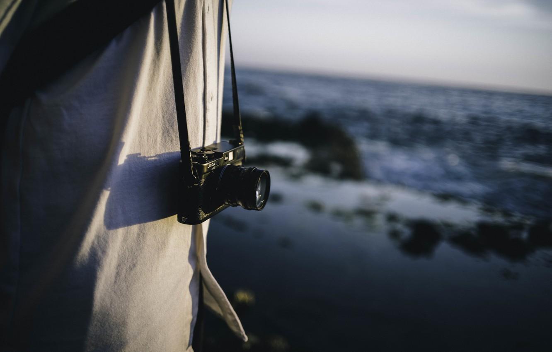 Photo wallpaper camera, the camera, lens