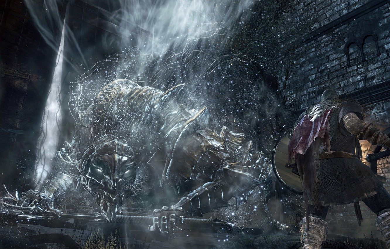 Photo wallpaper the game, screenshot, game, RPG, screenshot, 2016, Dark Souls III