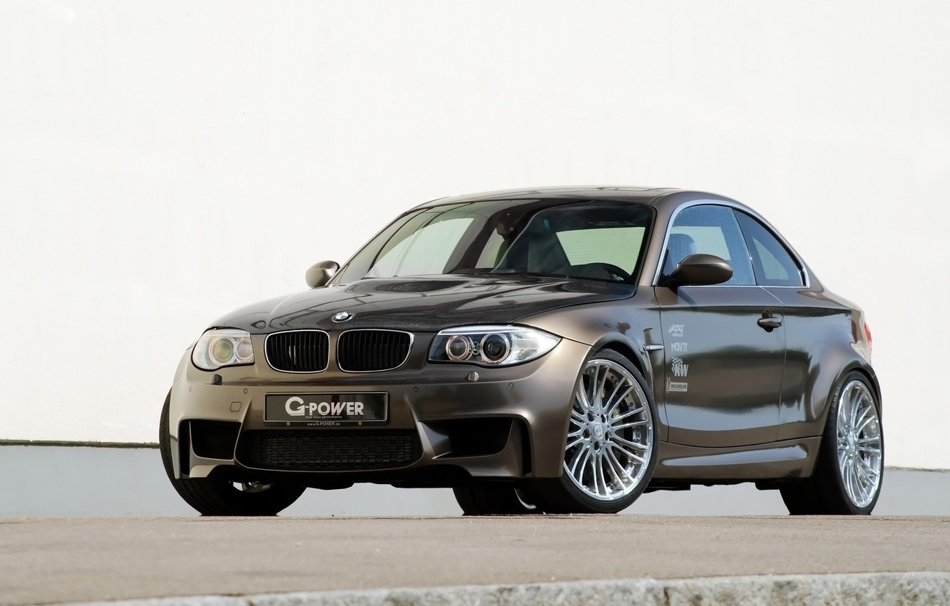 Photo wallpaper background, tuning, BMW, BMW, penny, G-Power, tuning, the front, Hurricane, 1 series