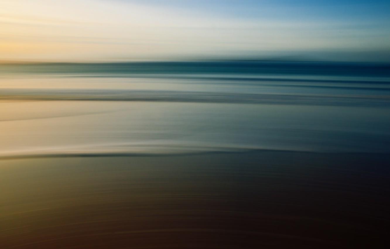 Photo wallpaper sand, sea, strip, background