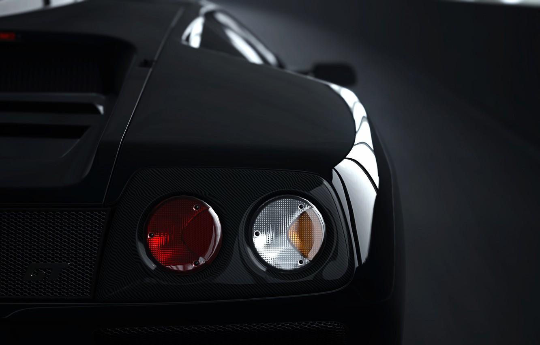 Photo wallpaper Lamborghini, Diablo, Gran Turismo