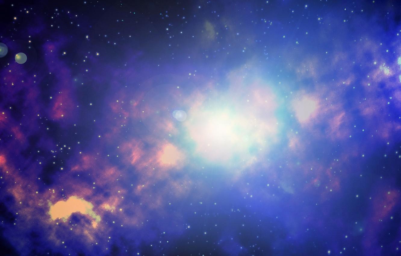 Photo wallpaper space, nebula, space, nebula